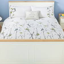 duvet cover with birds sweetgalas