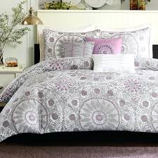 grey and white bedspread delightful bedding sets queen lavender chevron comforter