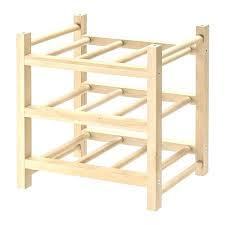 hutten 9 bottle wine rack solid wood ikea wine rack ikea wine glass rack ikea uk