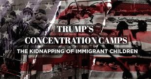 Image result for Donald Trump's migration children prisons photos