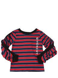<b>Givenchy</b> - <b>Футболка</b> из хлопка в полоску - Разноцветный ...