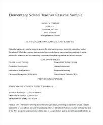 New Teacher Resume Template Airexpresscarrier Com