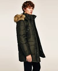 QUILTED PARKA - COLLECTION-SALE-MAN | ZARA United Kingdom & Image 3 of QUILTED PARKA from Zara Adamdwight.com