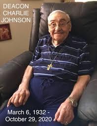 Obituary for Deacon Charlie Johnson | Gabaldon Mortuary