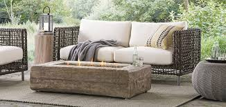 patio furniture. Outdoor Patio Furniture Deck Arhaus Intended For Sofa Chair Plans 15