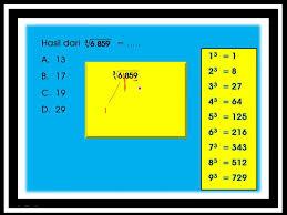 Untuk menguji pemahaman tentang menentukan akar pangkat tiga suatu bilangan kubik berikut ini beberapa contoh 9. Bimbel Optimasi Kecerdasan Brilliant Student Penyelesaian Bilangan Akar Pangkat Tiga Facebook