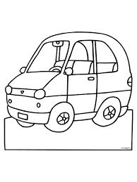 Kleurplaat Auto Kleurplatennl