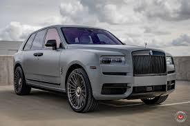 Rolls Royce Cullinan Vossen Forged Series 17 S17 13 Vossen Wheels