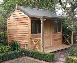 3 6 settlers hut cedar shed