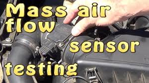 mass air flow sensor maf testing out dismantling premium