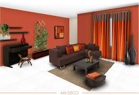 Orange And Yellow Living Room Living Room Color Ideas 60 Wall Color Ideas In Orange Design For