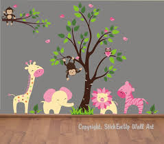 baby wall decals 155 nursery wall decals monkey wall decal