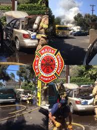 vehicle fire at paradise gardens photos courtesy sean aquino