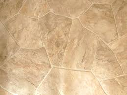 Sheet Vinyl Flooring Looks Like Stone The Home Would Look Great With This!