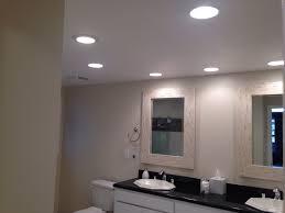 recessed light bathroom over vanity not working fixtures placement remove