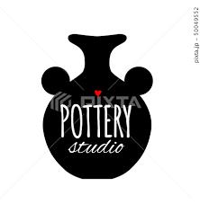 陶芸のイラスト素材 Pixta