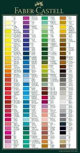 Faber Castell Classic Colored Pencils Color Chart Faber Castell Faber Castell Classic Color Pencil Art