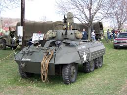 Light Armored Car M8 M8 Greyhound Wikipedia