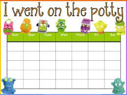 Free Printable Potty Charts Printable Potty Charts Activity Shelter