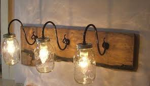 rustic bathroom lighting fixtures. Simple Rustic Bathroom Vanity Lights On Pertaining To Light Fixtures Home Designs Lighting