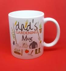 dads gardening coffee mug tea outdoors
