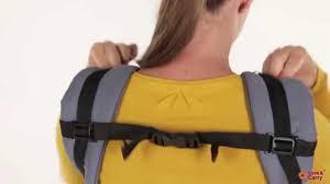 """Эрго-рюкзак Love & Carry. Инструкция: позиция """"спереди ..."""