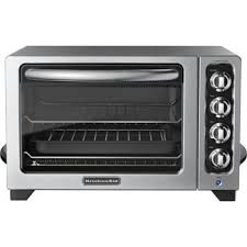 kitchenaid convection bake countertop oven 4 heating elements with