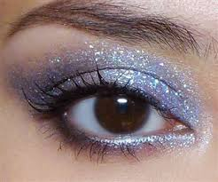 nearly every fairy look starts with a great glittery eye beauty the makeup box offers a step by step tutorial for applying sparkly eye makeup