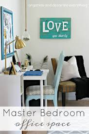 organize office space. Master Bedroom Office Space - Organize And Decorate Everything D
