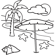 Small Picture Download Beach Coloring Pages httpletmehitcombeach coloring
