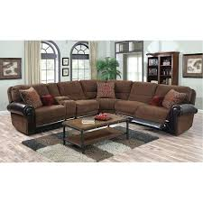 reclining sectional couches auburn brown 4 piece power reclining sectional sofa furniture leather sectional recliner