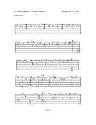 Blues Chord Progression Chart Easy Blues Chord Progressions In The Keys Of E A C G