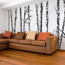 Small Picture silver birch trees vinyl wall sticker by oakdene designs