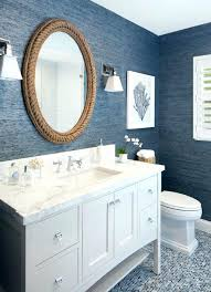blue and white bathroom bathroom mirror ideas for a small bathroom blue  white blue white bathroom