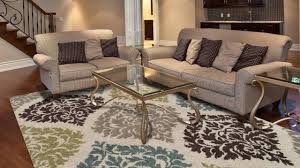 how to place area rug in living room living room modern area rugs linen sofas accent