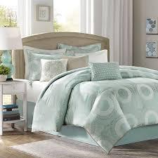 Aqua Green Bed Comforter Set