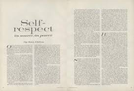 self respect essays essay on self respect on selfrespect joan didionsessay from the limdns dynamic dns service importance of
