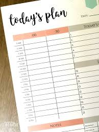 Daily Planner Printables The One Printable I Cant Function Without Free Daily