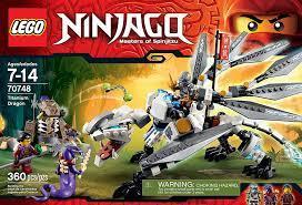 LEGO Ninjago Titanium Dragon Toy (Discontinued by manufacturer) by LEGO:  Amazon.de: Spielzeug