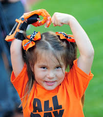 5-year-old Hailey Dawson tosses out first pitch at Orioles game ...