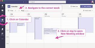 microsoft teams instructions for