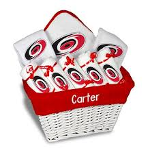 personalized carolina hurricanes large gift basket