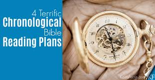 Read The Bible In A Year Chronological Chart 4 Terrific Chronological Bible Reading Plans Keithferrin Com