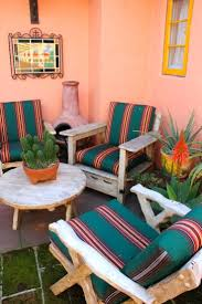 mexican patio decor best furniture images on s and haciendas decorations .  mexican patio decor ...