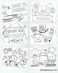 Download them or print online! 6 Cute Free Printable Back To School Coloring Pages For Kids This Tiny Blue House
