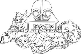 Angry Birds Star Wars Coloring Pages Angry Birds Angry Birds Star