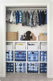 diy closet organizer for kids room and