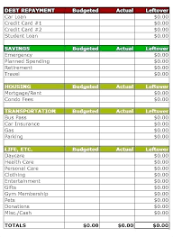Monthly Household Budget Template Home Budget Template Uk