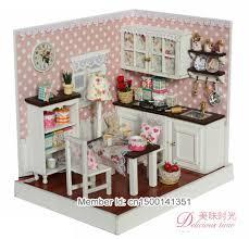 Schicken Mehr Modellbau Kits Information über DIY 3D dollhouse kit