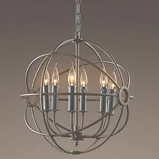 rh lighting restoration hardware vintage pendant lamp foucault s for black orb chandelier gallery 42